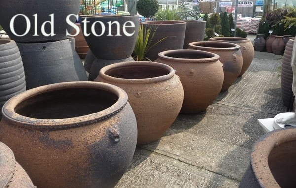 large glazed pots garden planters and vases woodside garden centre