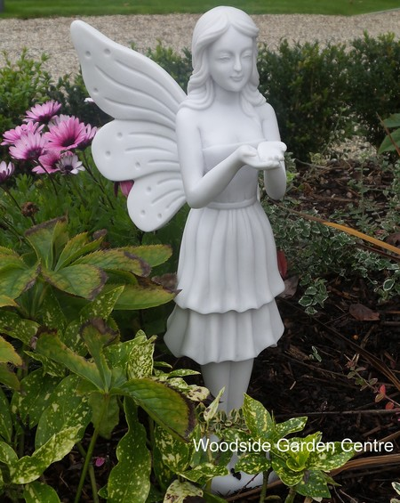 Marble Resin Standing Fairy Garden, Fairy Garden Statues Uk