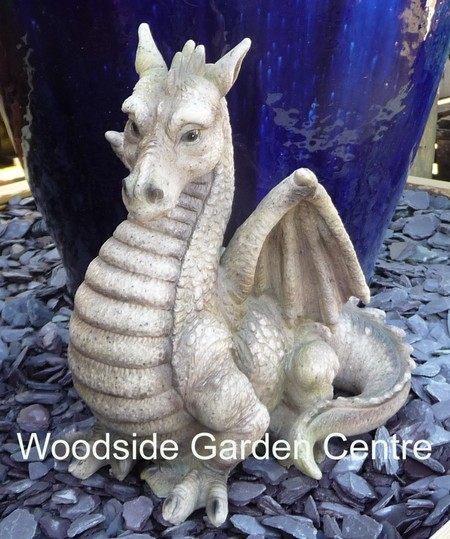dragon garden statues. Resin Dragon Garden Ornament Fantasy Mystical | Woodside Centre Pots To Inspire Statues E