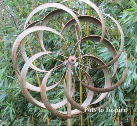 Jonart Wind Spinner Metal Granchester Garden Sculpture