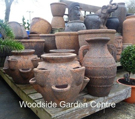 Large Old Stone Herb Planter Woodside Garden Centre Pots To Inspire