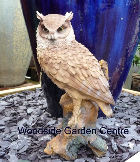 Stone Owl Garden Ornaments Large resin long eared owl vivid arts garden ornament woodside please call 01268 747888 for delivery cost to postcodes pa20phddabivkw workwithnaturefo