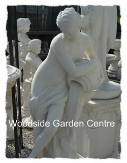 Large Stone Garden Ornaments Large water girl female statue garden ornament woodside garden this beautiful high quality stone statue is suitable for any garden or patio our reconstituted stone garden ornaments are hand made in the uk using local workwithnaturefo