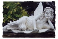 Resin Fairy Laying Home and Garden Ornament