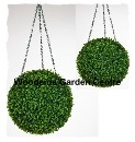 Artificial Hanging Buxus Ball Essex