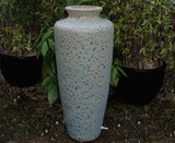 Large Coral Blue Tall Garden Decor Vase