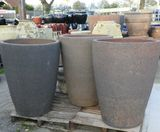 Old stone Monster Crucible Pots Planters