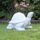 Extra Large Marble Resin Tortoise Home or Garden Ornament