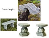 Fairy Garden Bench|Stool|Bridge Fairy Garden Ornament