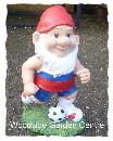 London 2012 Olympic Football Garden Gnome Ornament