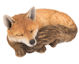 Large Resin Fox Sleeping Vivid Arts Garden Ornament