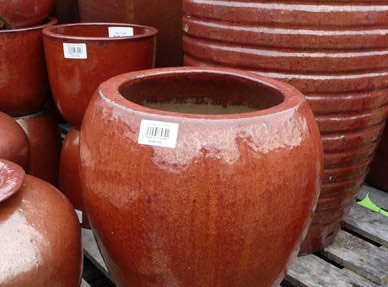 Large Glazed Pots Garden Planters and Vases | Woodside