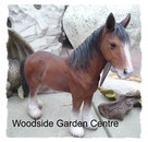 Resin Clydesdale Shire Horse Home or Garden Ornament