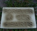 Forever in Our Hearts Memorial Plaque