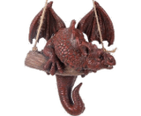 Vivid Arts Resin Mythical Rocking Red Dragon Garden Ornament
